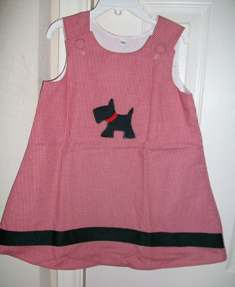 Boutique Scottie Dog Aline Dress