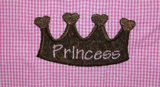 Boutique Princess Crown Aline Dress