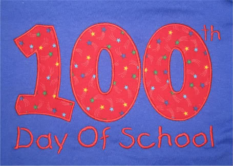 Custom 100th Day of School shirt