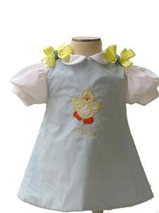Custom Aline Easter Chicky Dress