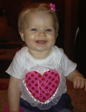 Custom Applique Tulle Heart Initial Valentine Shirt
