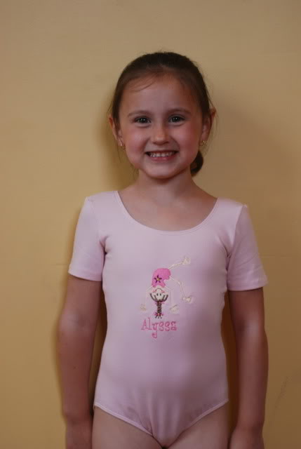 Custom Gymnastics Leotard