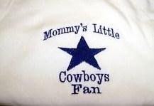 Custom Football Mommy's Little Cowboys Fan Shirt