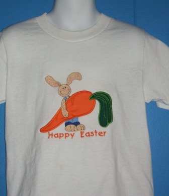 Easter Bunny with Carrot T Shirt