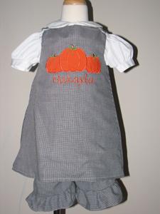 Custom Boutique Pumpkin 2pc Set