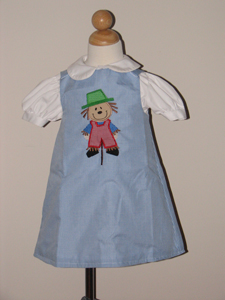 Custom Boutique Scarecrow Dress