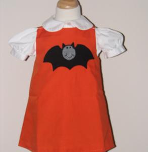 Custom Boutique Halloween Bat dress