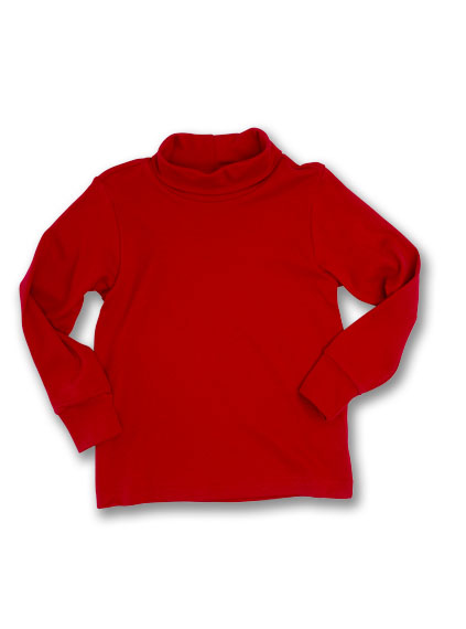 Kelly's Kids Red Knit Turtleneck