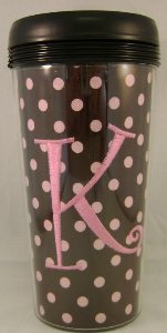 Monogrammed Coffee Mug Without Handle