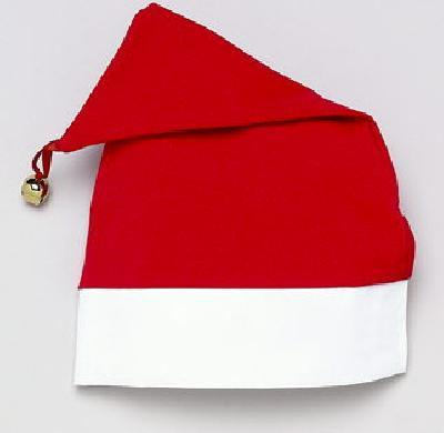 Monogrammed Christmas Santa Hat