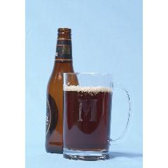 Monogrammed Acrylic Beer Mug