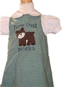 Custom Boutique Bear dress