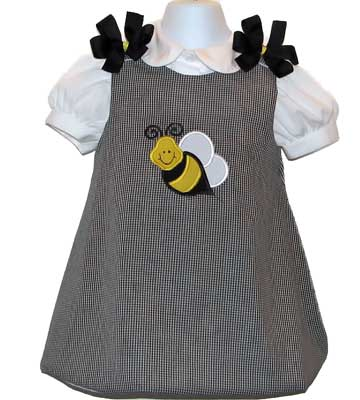 Custom Aline Bumble Bee Dress