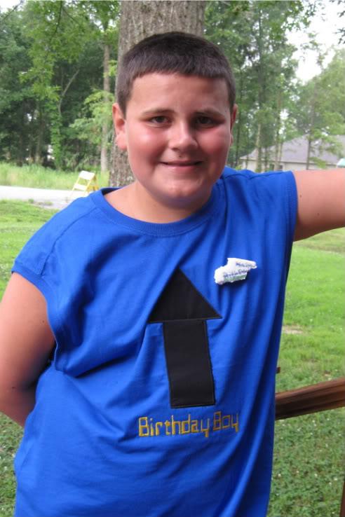 Custom Applique Arrow Birthday Boy Shirt