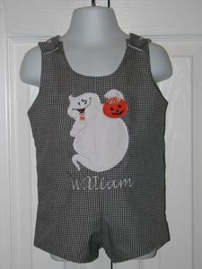 Custom Boutique Halloween Ghost Jon Jon