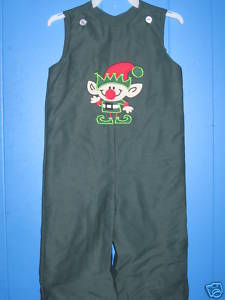Custom Boutique Christmas Elf Longall