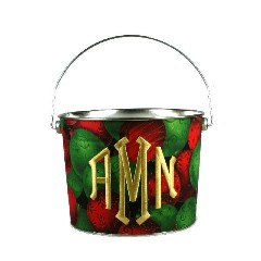 Christmas Ornaments Bucket