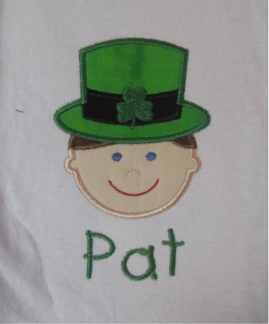 Custom Applique St. Patrick's Day Little Boy Shirt