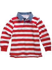 Kelly's Kids Jackson Rugby Polo 5/6