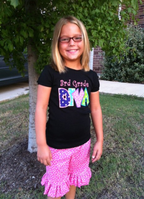 School Grade DIVA Custom Shirt Outfit