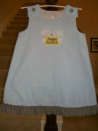 Custom Easter Bunny Aline Dress