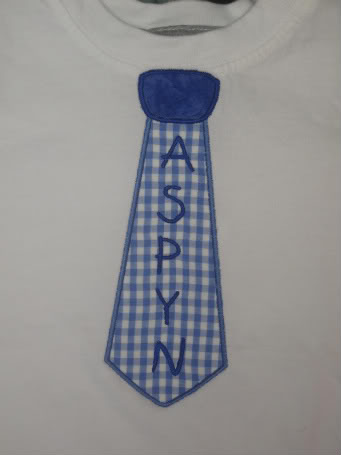 Custom Applique Easter Tie Shirt