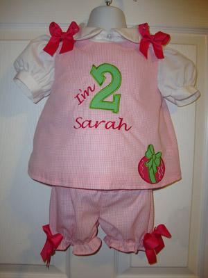Custom Applique Number Dress with Easter Egg