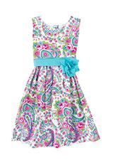 Kelly's Kids Classic Sash Dress 7/8
