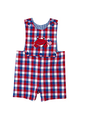 Kelly's Kids  Reversible Button Front Jon Jon 6m