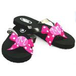 Monogrammed Hot Pink Flip Flop