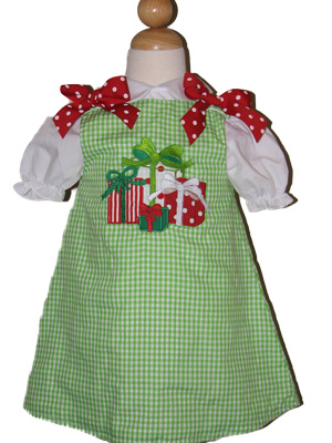 Christmas Presents Aline Dress