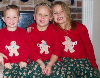 Custom Christmas Gingerbread Pajamas