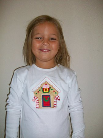 Gingerbread House Christmas Shirt