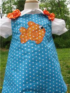 Custom Aline Goldfish Dress