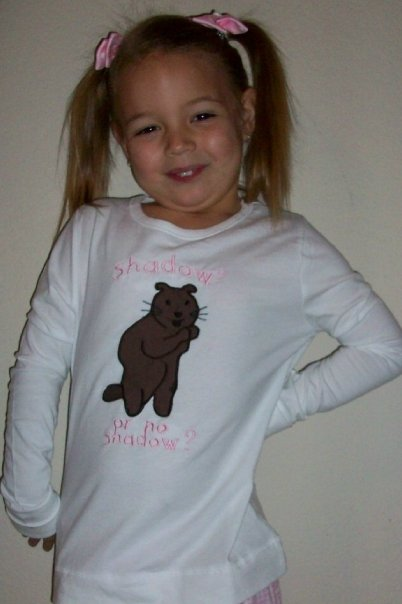 Custom Applique Groundhog Day Shirt- Boy or Girl