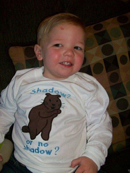 Custom Applique Groundhog Day Shirt- Boy or Girl