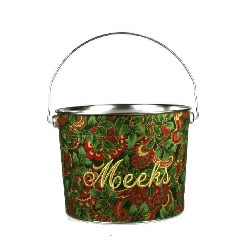 Holly and Ivy Christmas Bucket