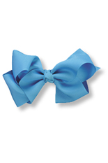 Kelly's Kids Large Turquoise Bow