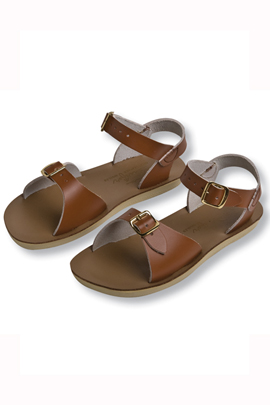 Kelly's Kids Tan Sun-San Sandals