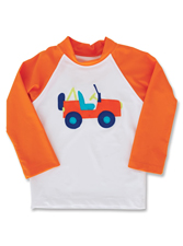Kelly's Kids Jeep Rash Guard
