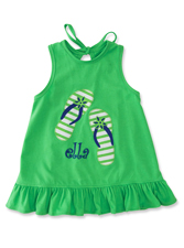 Kelly's Kids Flip Flop Swing Set Top