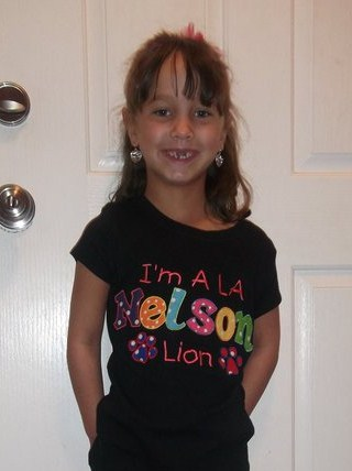 Custom I'm A L A Nelson Lion Applique Shirt