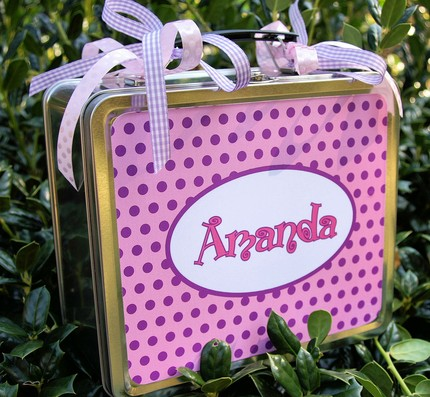 Personalized Metal Lunch Boxes