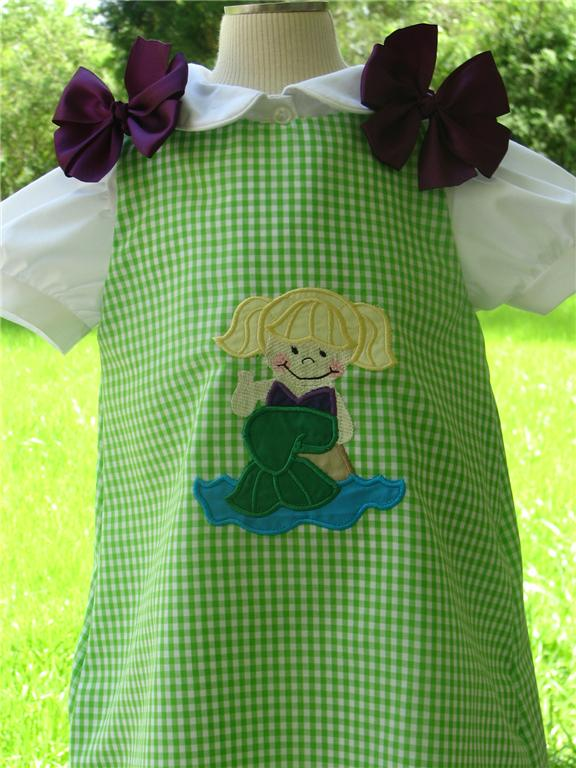 Custom Aline Beach Mermaid Dress