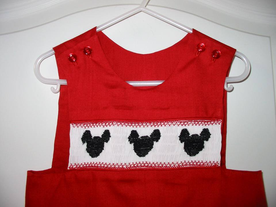Custom Smocked Mouse Vacation Jon Jon Longall
