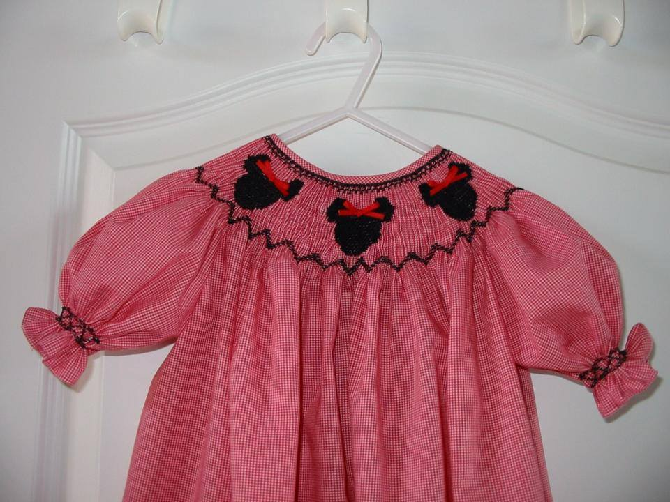 Custom Smocked Mouse Dress