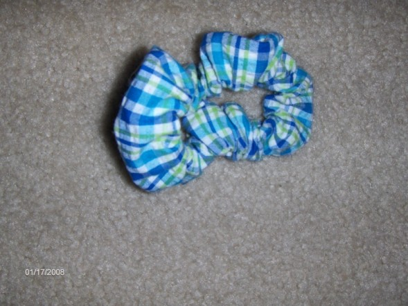 Kelly's Kids scrunchie