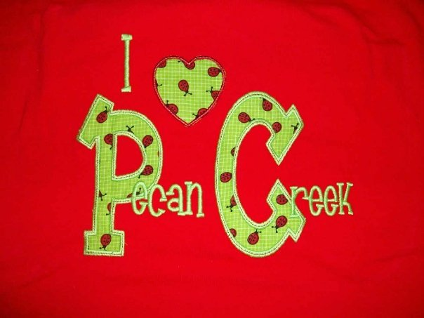 Pecan Creek Elem Custom  Ladybug School Shirt