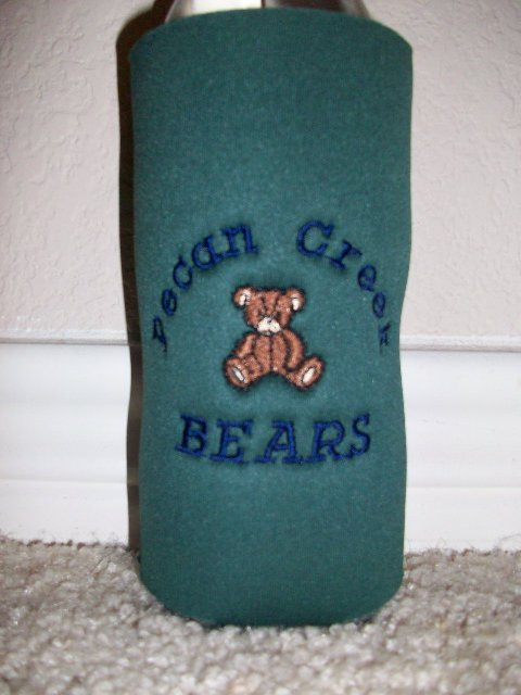 Pecan Creek Elem. Can or Water Bottle Koozie