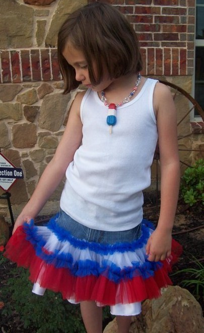 Custom 4th of July Pettiskirt